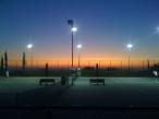 sunset tennis