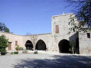 The Museum is found in the eastern wing of the Lusignian Medieval Manor House