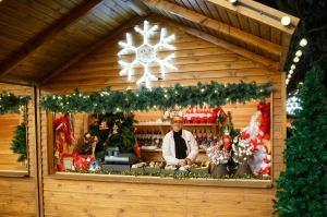 Christmas mystery stall