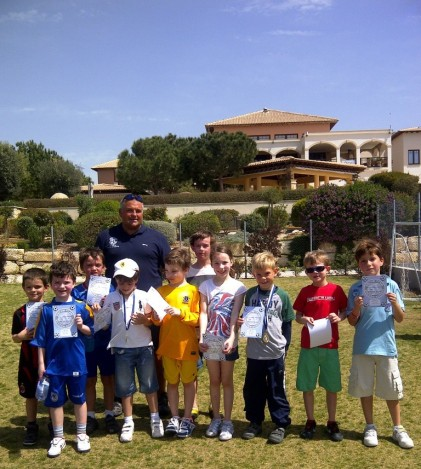 It's all about FUN at Dream Team Soccer School