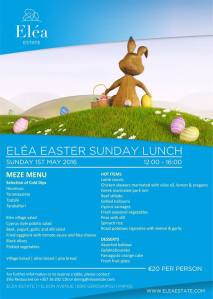 Easter - Elea Estate Sunday Lunch