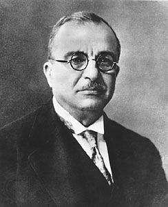Ioannis Metaxas – Prime Minister of Greece from 1936 – until his death in 1941